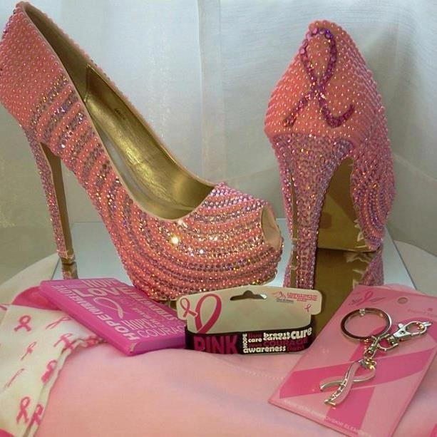 Breast Cancer Awareness High Heels Love Em Breast