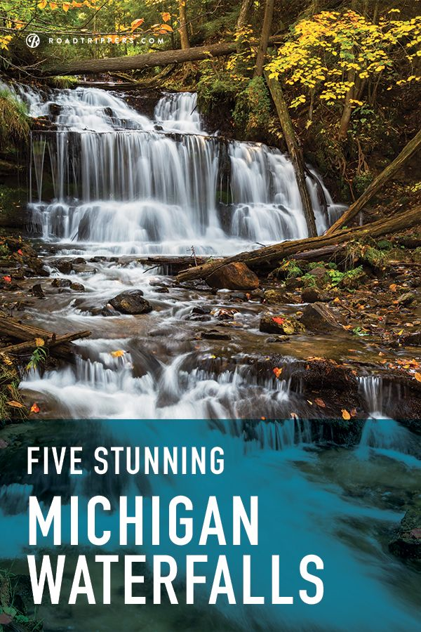 Going to see these in October. We've narrowed down 5 spectacular Michigan waterfalls you must travel to!