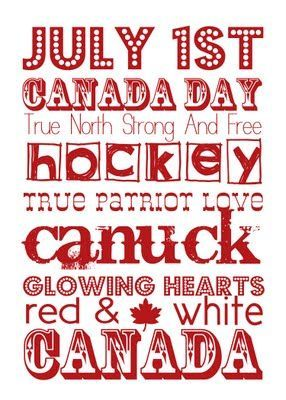 July 1st, Canada Day