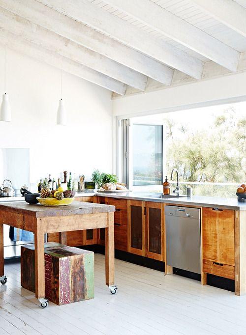 Mesas que son cocinas, diseños que son sueños