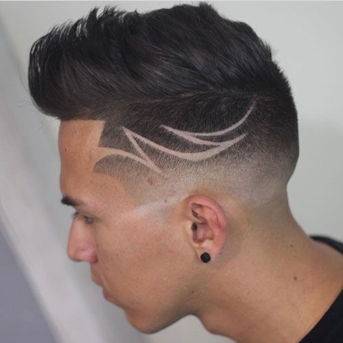 barber hair designs for men - photo #7