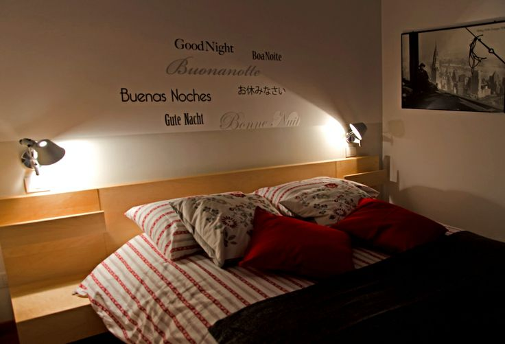 Bedroom and wall decoration