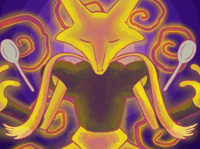 Alakazam - psychic  Introspective and a truly deep person, your Soul is that of the Psychic type - Alakazam. As wise as your are reserved, your quiet and pensive nature puzzles even the most intuitive of individuals. Your mind is often lost in deep thought, and your introverted personality leads others to mistake your quietness for a lack of caring or interest - which is simply not the case.
