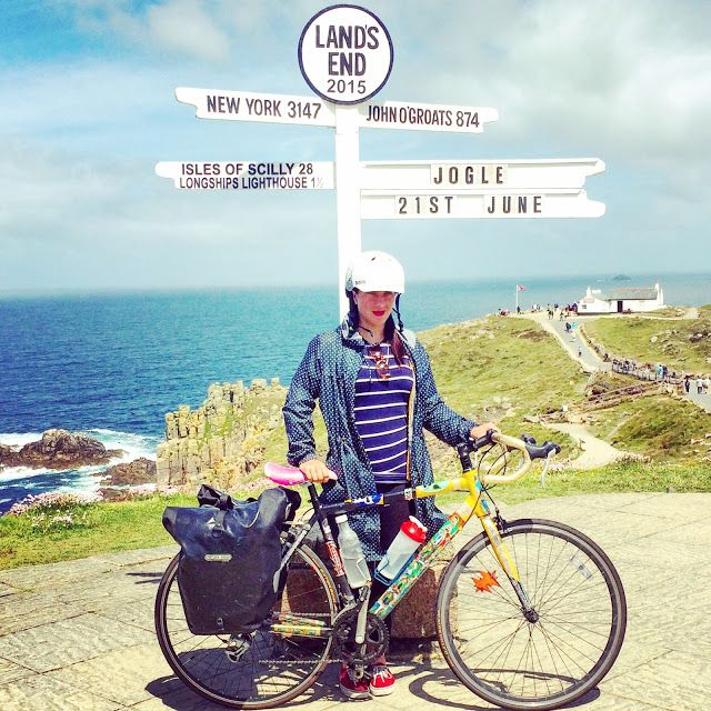 I Speak Bike: So I cycled over 900 miles from John O'Groats to Land's End. One puncture, no injuries (except for sunburn & that time I zipped my nose up in my waterproof), no cycling shorts, no support crew & I nailed every hill.