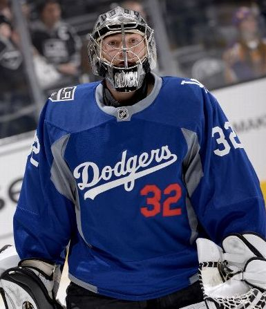 Anyone know where I can buy that blue LA kings warm up jersey that ... 54552669a4a