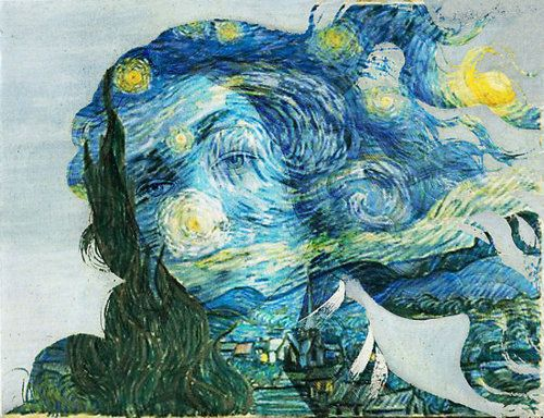 LESSON 2: Objective- Using Photoshop, create an art mash-up using masking and clipping techniques. Successfully combine 2 famous pieces of art to create a new masterpiece. Consider having students present research they have found about the artists/pieces they chose to mash-up. Example: Botticelli and van Gogh (there are all KINDS of art mash ups you could do...)