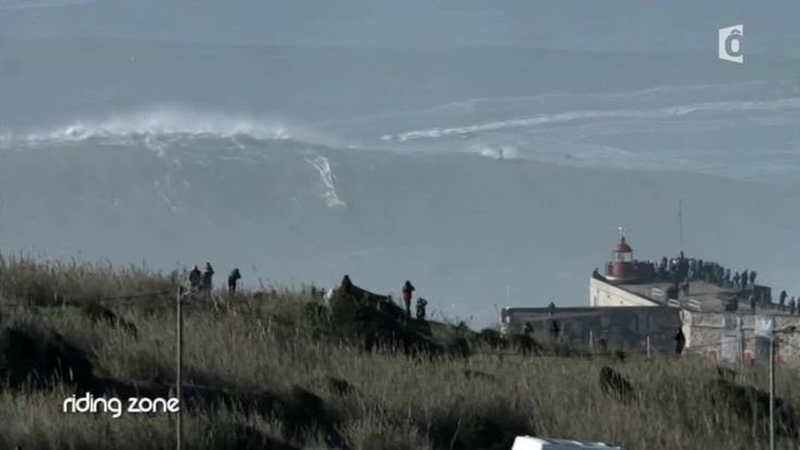 Benjamin Sanchis et Nazaré : La vague de tous les records - #RidingZone