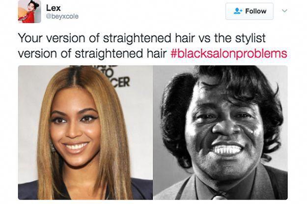 Top 10 Blacksalonproblems Tweets Black Hair Salons Black Girl Problems Black Hair