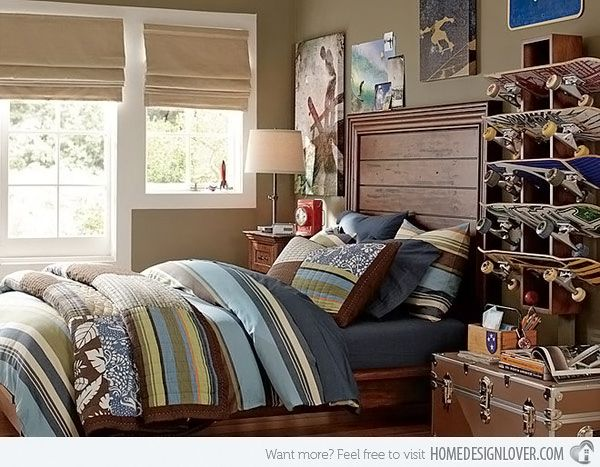 20 teenage boys bedroom designs hamptons bedroom home for Boys bedroom ideas pinterest