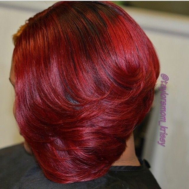 Great cut! Amazing color @taylorsmom_krissy #naturalhairdoescare #colorcodefriday #nhdcsalonspotlight