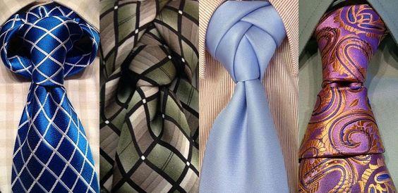 Nudos de corbata en 30 diferentes y creativas formas                                                                                                                                                                                 Más