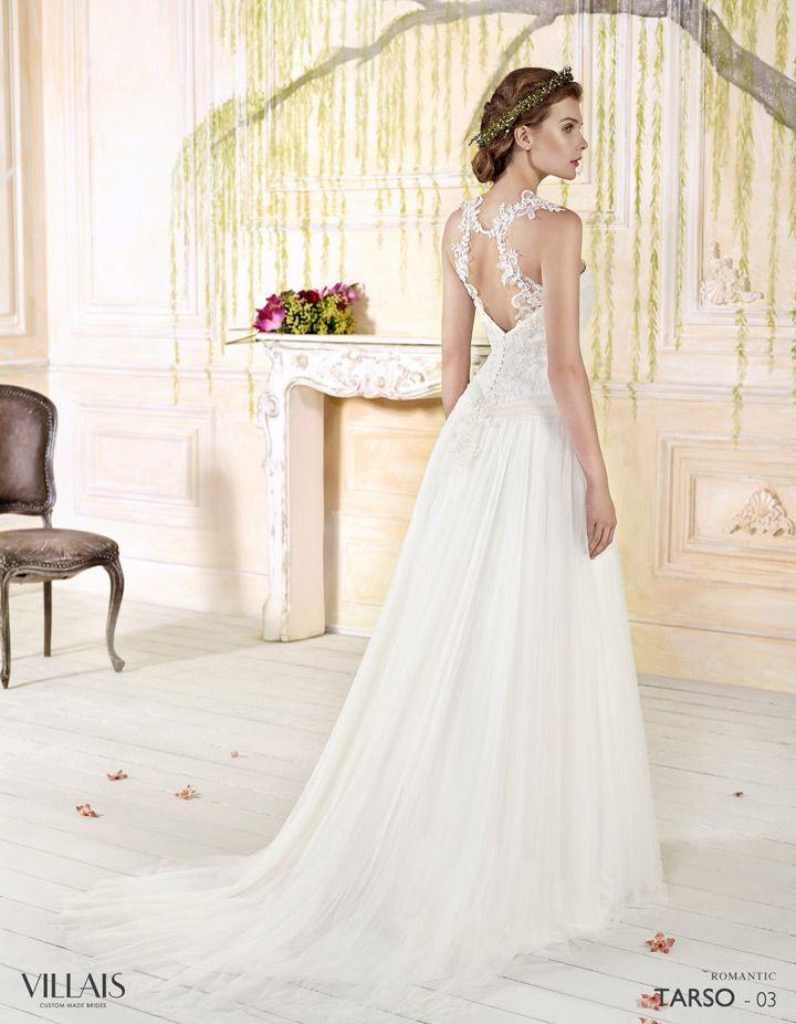 Tarso   Villais Romantic 2016 Wedding Dress - 3