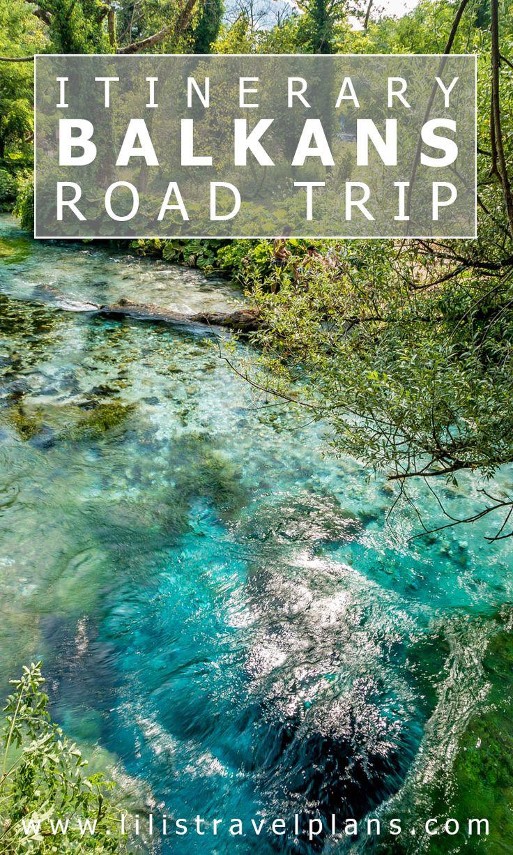 Balkans road trip itinerary - Bosnia and Herzegovina, Montenegro and Albania