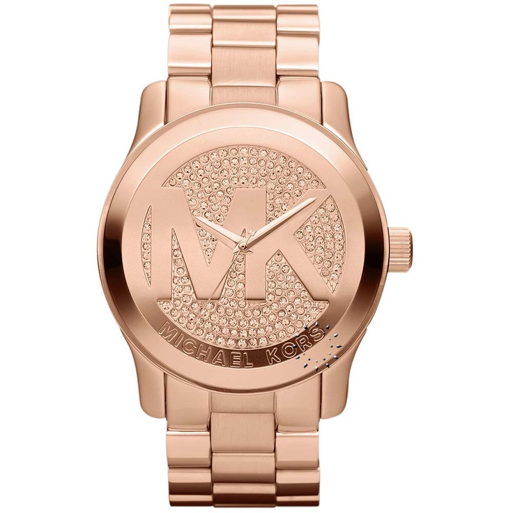 MICHAEL KORS Crystal Rose Gold Stainless Steel Bracelet Μοντέλο: MK5661 Τιμή: 308€ http://www.oroloi.gr/product_info.php?products_id=28406