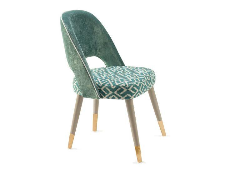 Scarica il catalogo e richiedi prezzi di Ava | sedia By mambo unlimited ideas, sedia imbottita in tessuto, Collezione ava