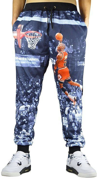 Honour Fashion Men's 3d Printed Sweatpants Sportwear