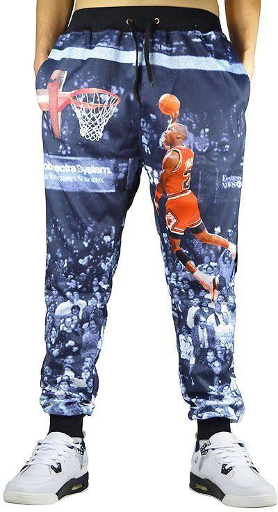 Honour Fashion Men's 3d Printed Sweatpants Sportwear