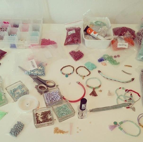 Beads everywhere ;)