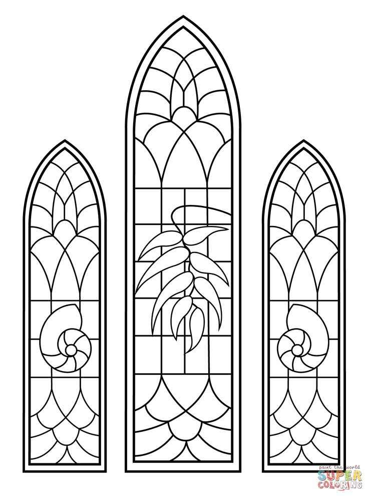 Image result for find printable easy stained glass