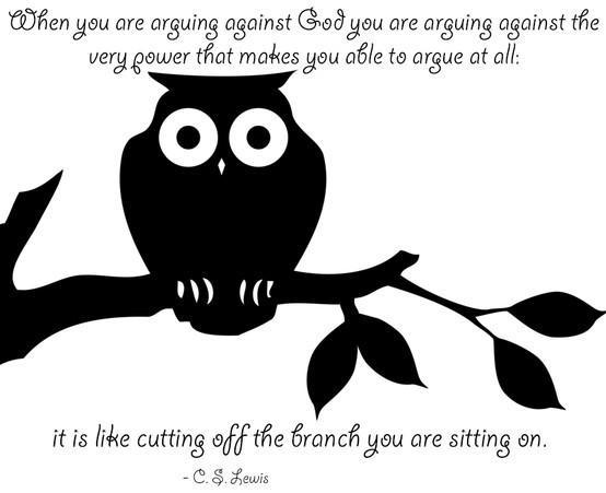 Arguing | Top 100 C.S. Lewis quotes | #faith #quotes #cslewis