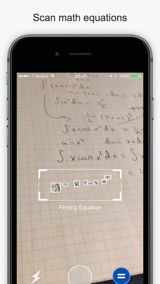 Mathpix - Solve and graph math using pictures by Mathpix ($0.00) Mathpix is the first app that lets you solve and visualize math by taking pictures of your handwriting (printed math works too!). Mathpix wants to replace expensive and clunky graphing calculators to provide a free and fun learning aid for math students across the world.
