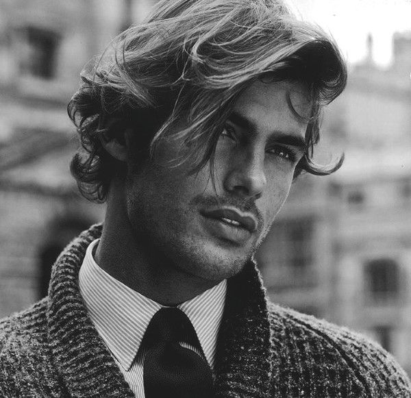 Long Wavy Hairstyles For Men