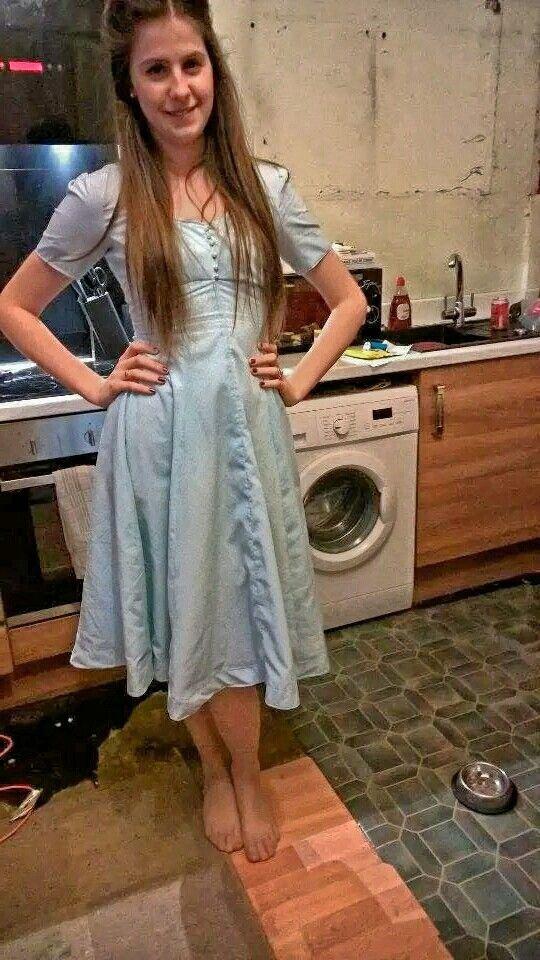 #Blue #Dress #1950s