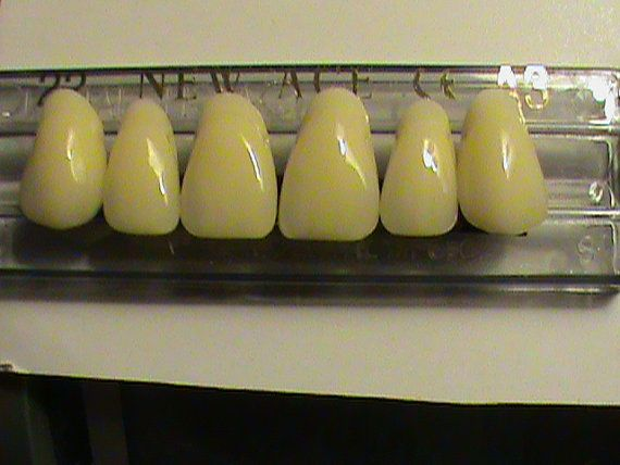 Teeth  Upper set of Anterior Front Teeth Made of by 1stopdental