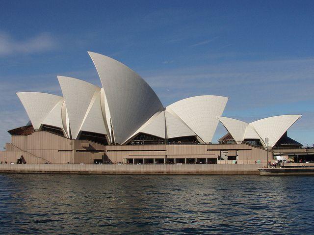 Sydney Opera House in Sydney, Australia #travel #architecture