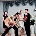 An Elvis wedding at chapelle de l'amour in Las Vegas, Nevada