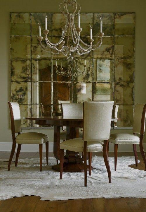 Antique Mirror Tile Design Pictures Remodel Decor And Ideas