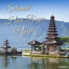 Ucapan Selamat hari raya Nyepi dalam bahasa Indonesia, Ucapan Selamat hari raya Nepi dalam bahasa Bali, Hari Raya Nyepi Tahun Baru Saka/Caka