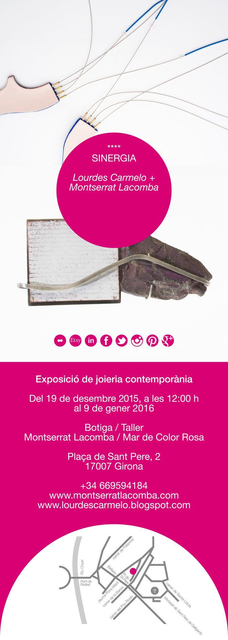 """exposición """"Sinergia"""" de Lourdes Carmelo y Montserrat Lacomba"""
