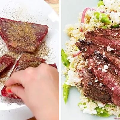 Here's A Healthy Steak Dinner To Make Tonight