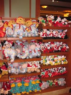 Christmas Shopping at Disneyland