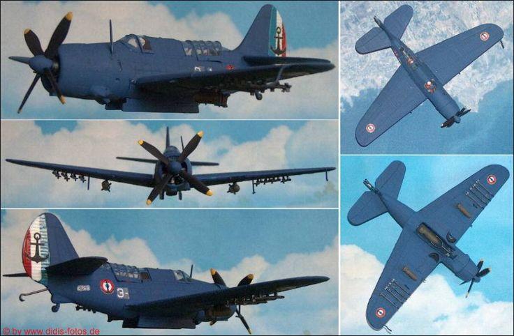 "Curtiss A-25 SB2-C ""Helldiver"" Marine-Kampfflugzeug (Matchbox 104) 1:72"