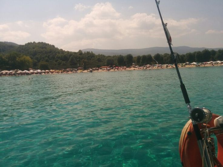 Swiming at Platanitsi