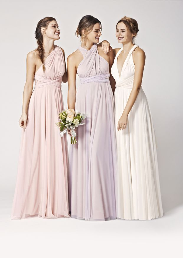 Brand New! Two-birds Tulle Convertible Bridesmaids Dresses: Spring 2015 see more at http://www.wantthatwedding.co.uk/2015/04/28/brand-new-two-birds-tulle-convertible-bridesmaids-dresses-spring-2015/
