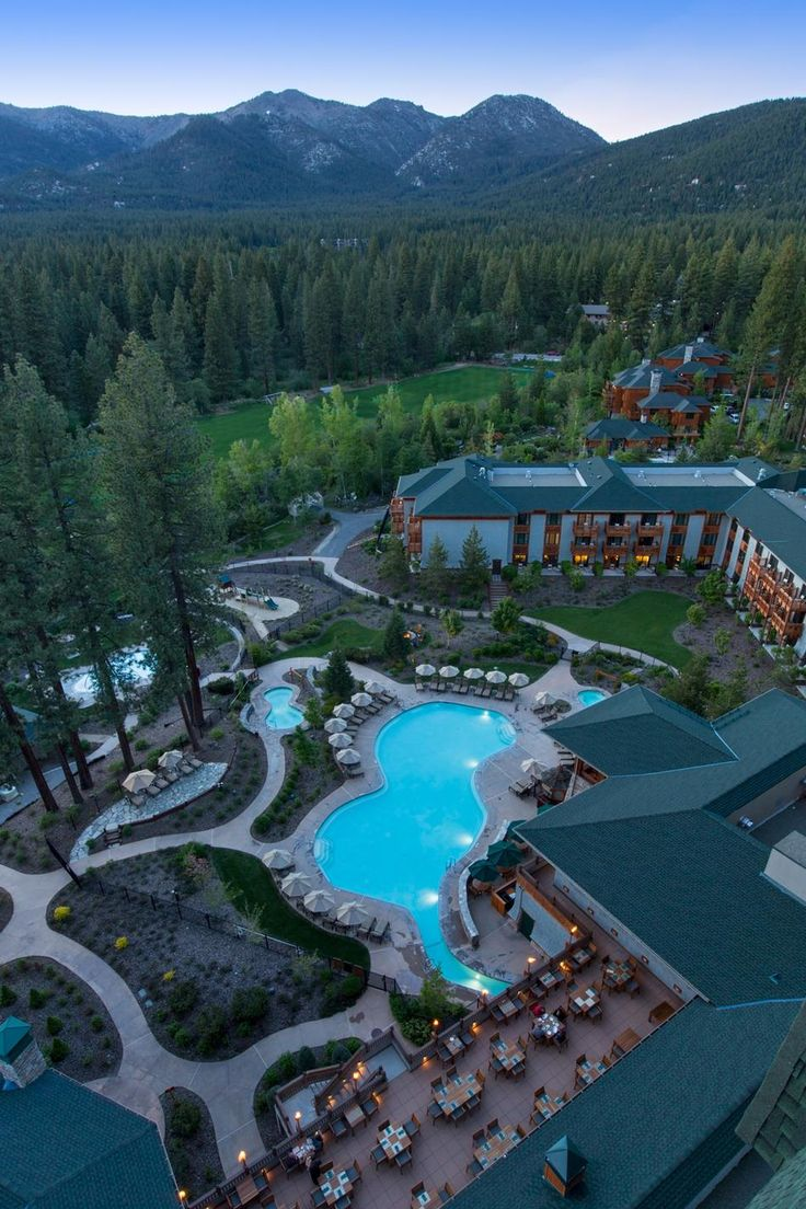 Lake Tahoe ..beautiful..but a little more privacy for me though :)