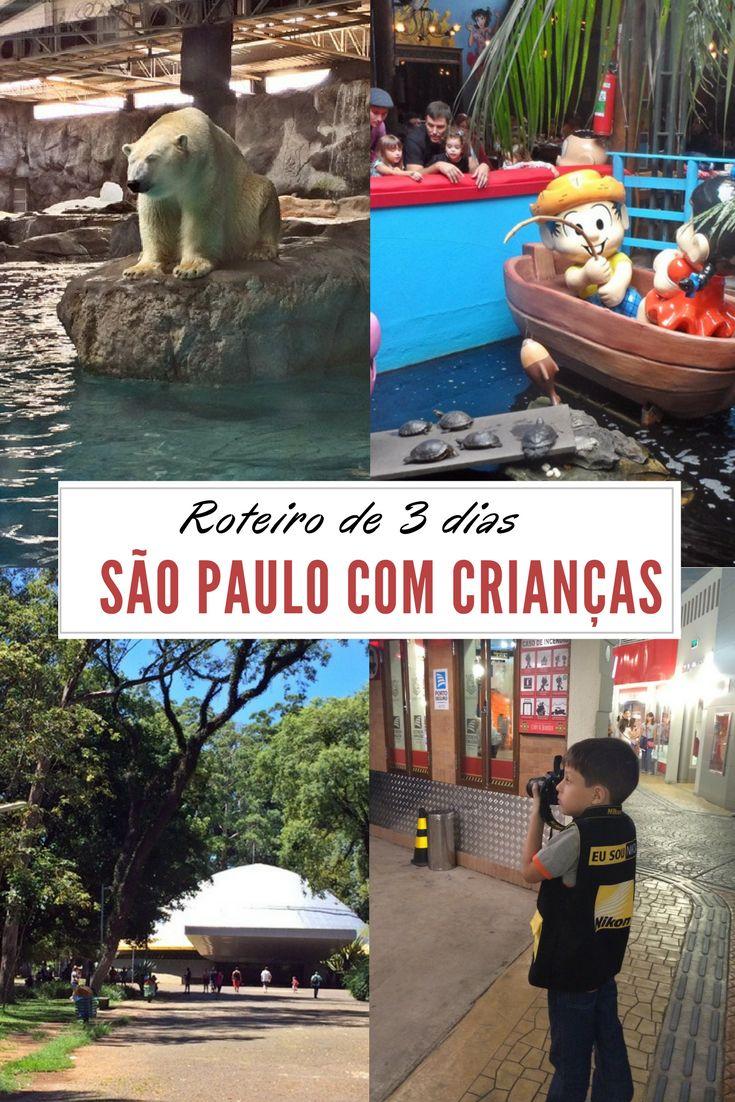Esse roteiro inclui dicas de passeios, restaurantes e hospedagem em São Paulo. Conheça o Museu da Lâmpada, o Kidzania, o Restaurante Chácara Turma da Mônica, o Catavento Cultural, o Museu da Imaginação, o Parque Ibirapuera e muito mais.