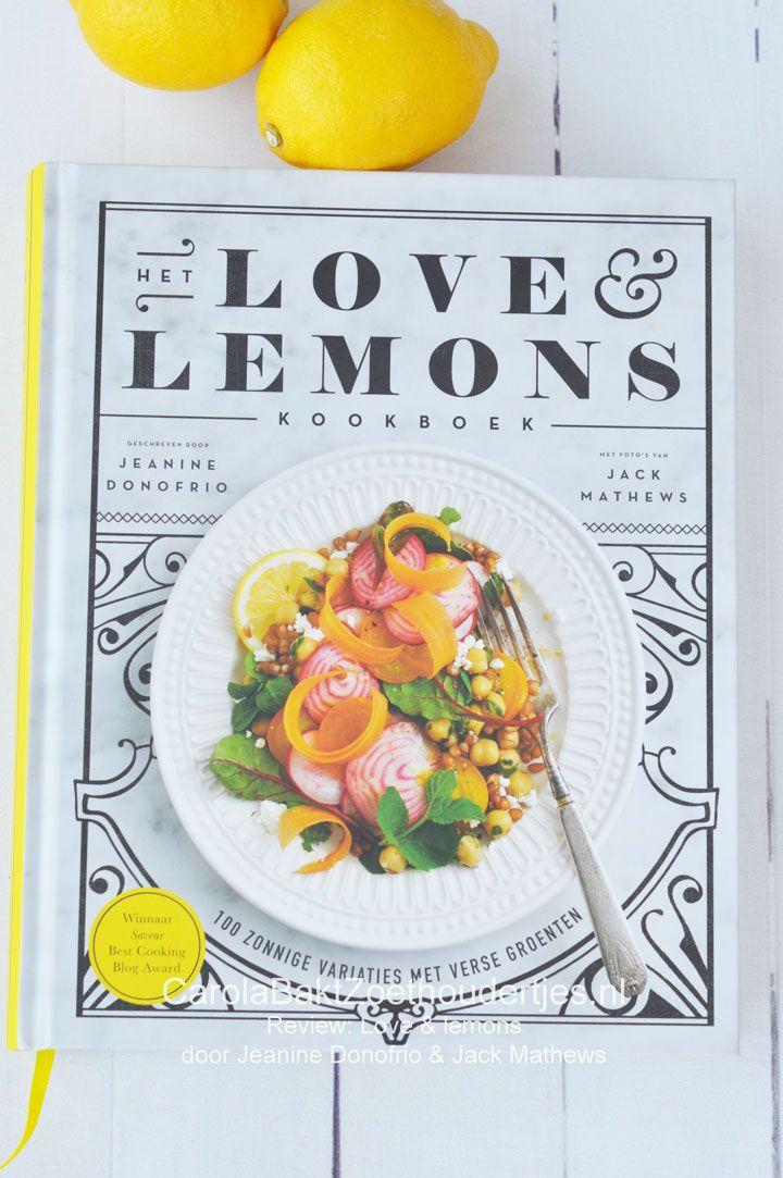 Love and lemons kookboek is geen boek vol recepten met citroen maar geeft veel inspiratie om meer groente te eten: groenterecepten dus!. Zelfs de schijf van vijf kan er niet meer omheen.