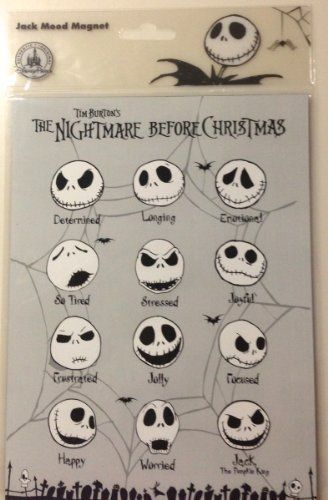 Disney Parks Nightmare Before Christmas Jack Skellington Mood Magnet Sign by Disney, http://www.amazon.com/dp/B00E6AYDLM/ref=cm_sw_r_pi_dp_3vsbsb06RXRCZ