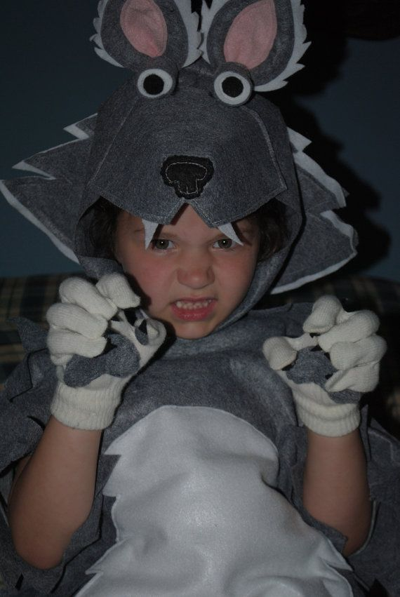 Advertisement for Grey Wolf Costume Please do от AlphabetCircus