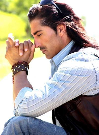 """Native American actor Jay Tavare - Of White Mountain Apache (Dzil Łigai Si'án Ndee - """"People of the White Mountains"""") and Navajo ancestry,[citation needed] he has used his public position to aid his peoples."""