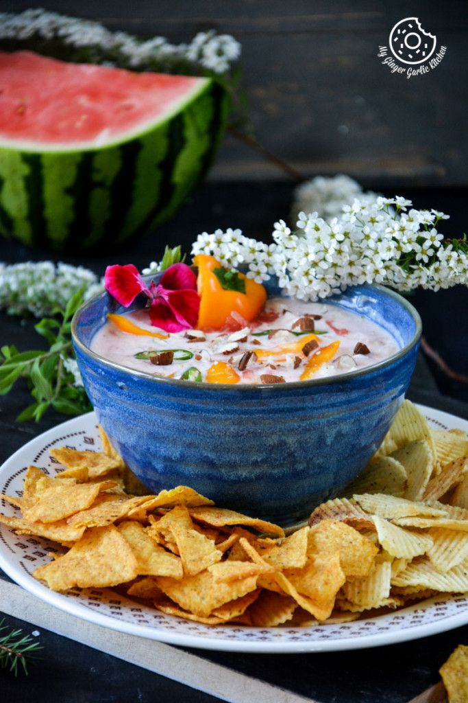 WATERMELON ONION YOGURT CHIP DIP! #foodie #foodstyling #dip #yogurtdips #watermelon #summerfood #delicious #nomnomnom #veganrecipe #glutenfree #healhty #yumyfood #foodforfoodie #onblog #vegetarianrecipe #eatclean #eathalthy #newpost #blogpost #ontheblog #foodblogger #foodandfood #recipes #veganfoodshare #whatveganseat
