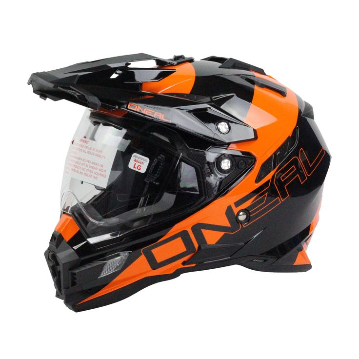 Oneal 2016 Sierra Dual Sport Edge Black/Orange Helmet