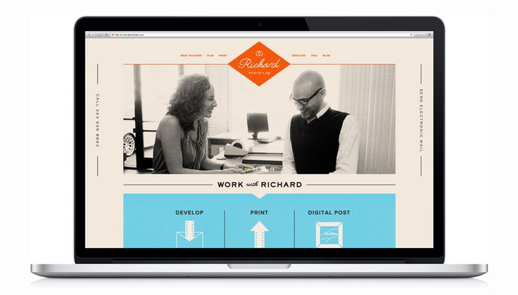 Welcome to Matchstic | A Brand Identity House :: Richard Photo Lab