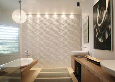 Efeito wall washer let cia dias ilumina o de - Pittura su muro interno ...