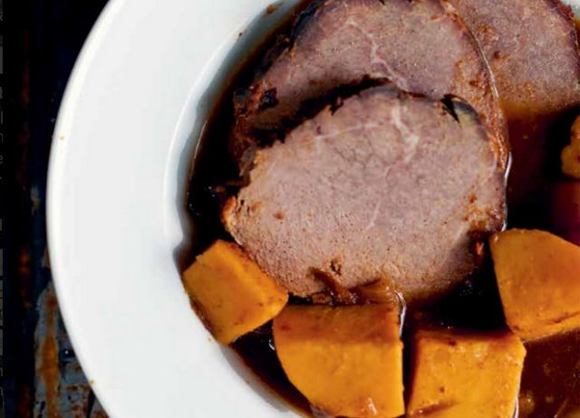 Roast with Apples, Sweet Potatoes, & Prunes - Food Renegade Pot Roast ...