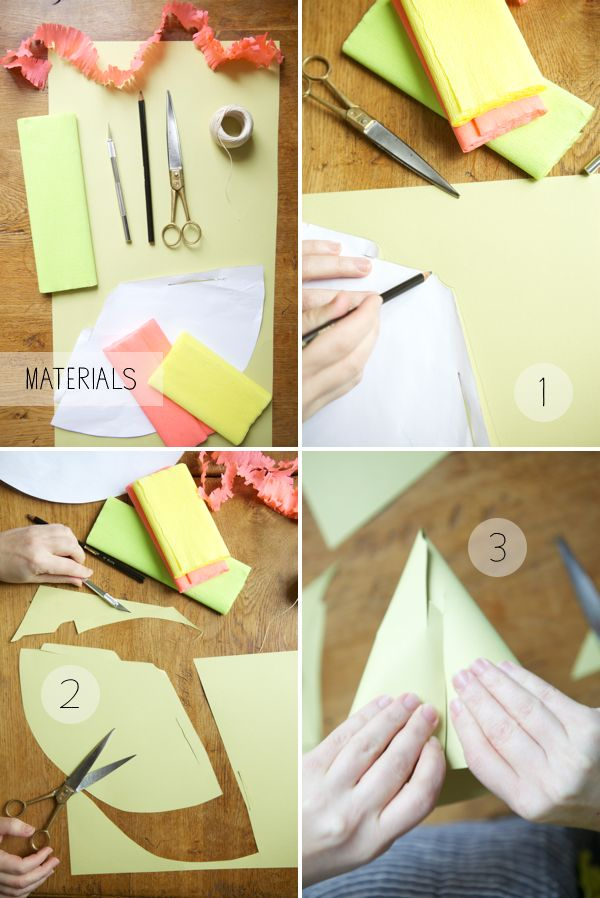 Step By DIY Party Hat W Downloadable Template